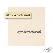 Carimbo #produtoartesanal