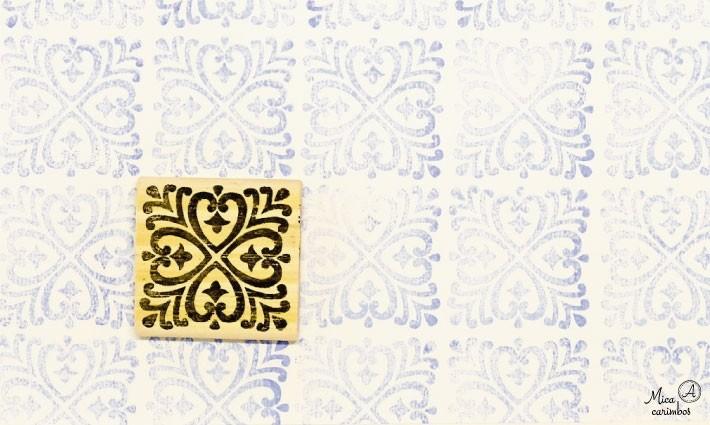Carimbo Azulejo 10