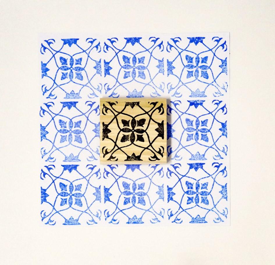 Carimbo Azulejo 2