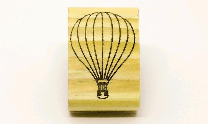 Carimbo Balão viagem