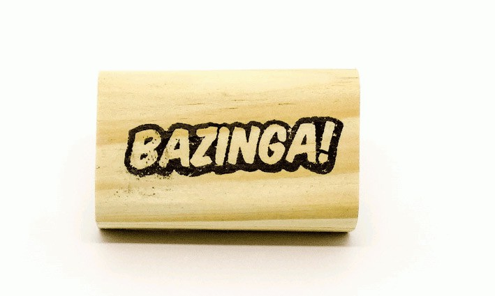 Carimbo Bazinga