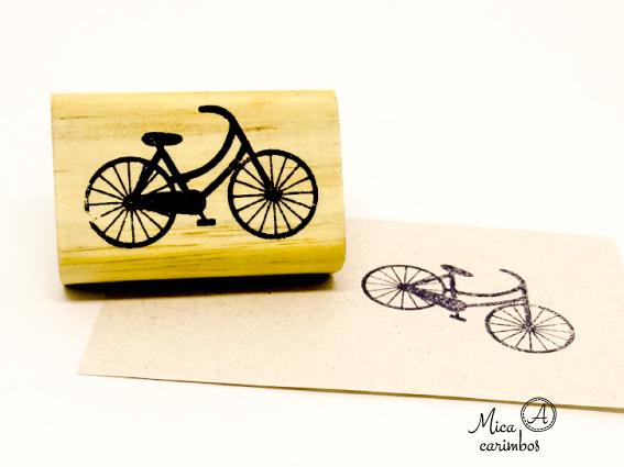 Carimbo Bicicleta Bike Pequena