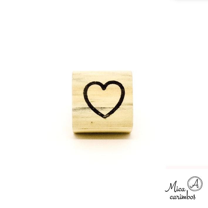 Carimbo Coração Babi M
