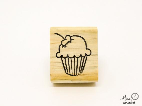 Carimbo Cupcake