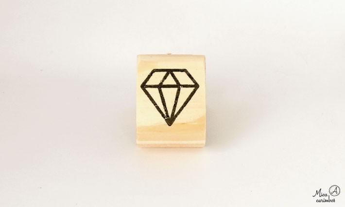 Carimbo Diamante M