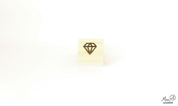 Carimbo Diamante P