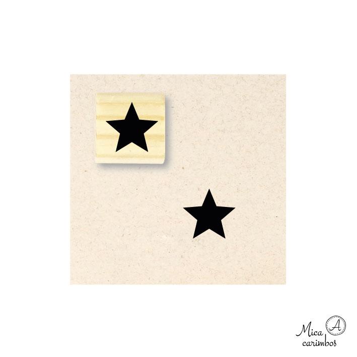 Carimbo Estrela fechada M
