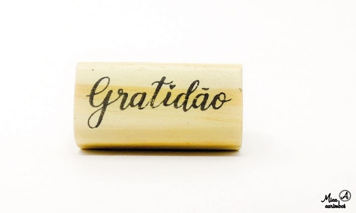 Carimbo Gratidão L