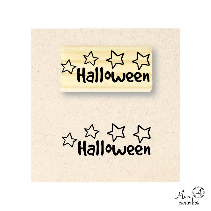 Carimbo Halloween
