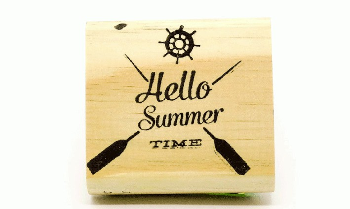Carimbo Hello summer