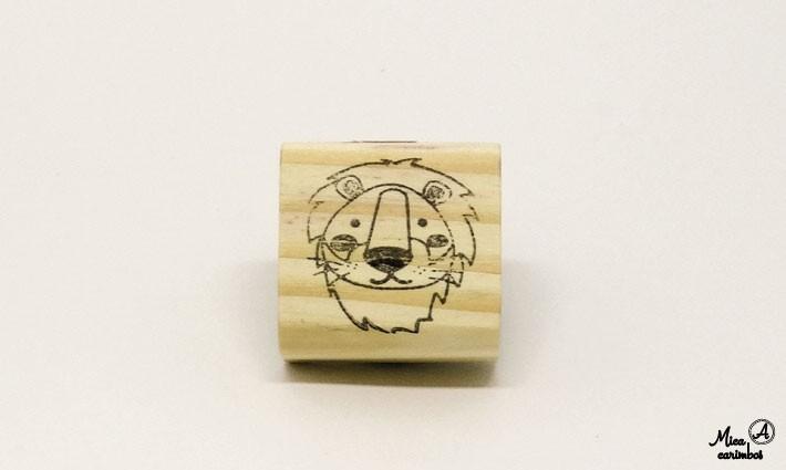 Carimbo Leão - Animais