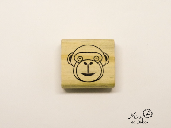 Carimbo Macaco - Animais