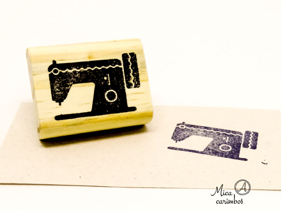 Carimbo Máquina de costura