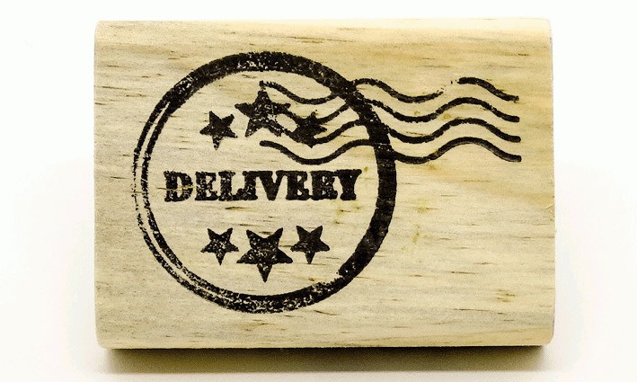 Carimbo Selo delivery