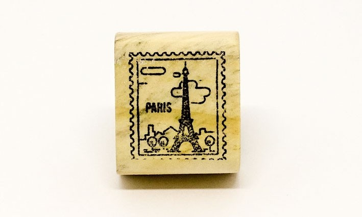 Carimbo Selo Paris