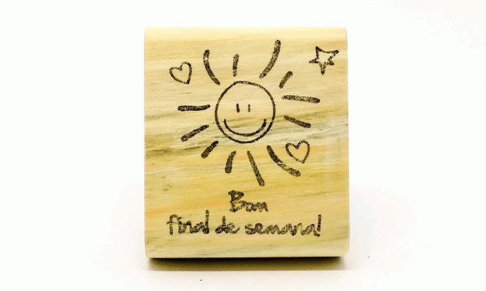 Carimbo Sol - bom final de semana