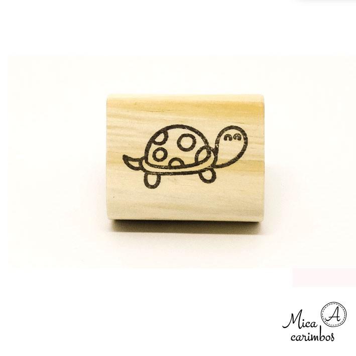 Carimbo Tartaruga fofinhos