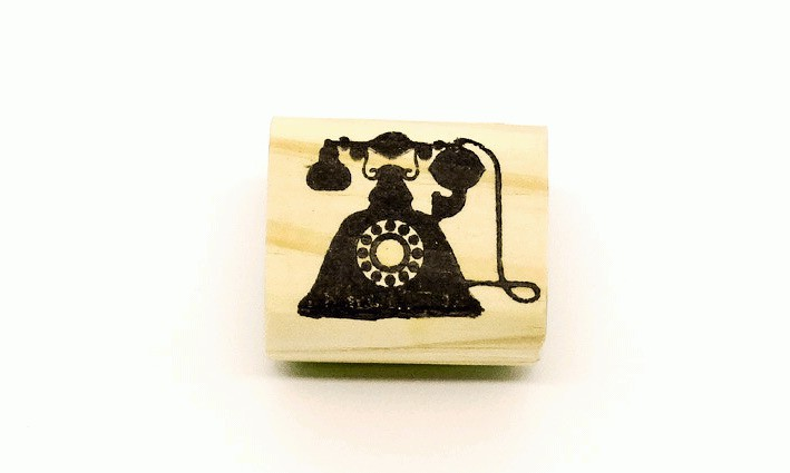 Carimbo Telefone antigo