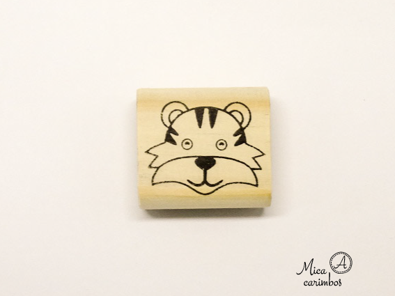 Carimbo Tigre - Animais