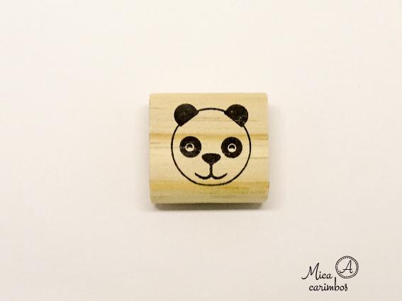 Carimbo Urso Panda - Animais