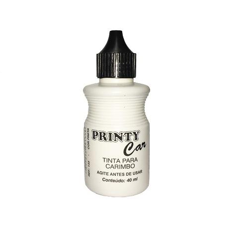 Tinta Printy Car para papel Preta 40ml