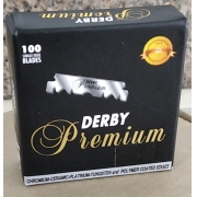 LÂMINAS DE BARBEAR DERBY PREMIUM- 1/2 -100 CX  ATACADO