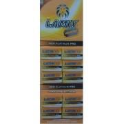 LÂMINAS DE BARBEAR LAMIX NEWS PLATINIUM -100 CARTELAS  ATACADO