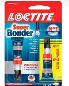 COLA INSTANTÂNEA SUPER BONDER LOCTITE