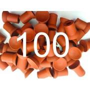 Chupeta Ventosa Para Esmerilhar Válvulas Pacote com 100 peças