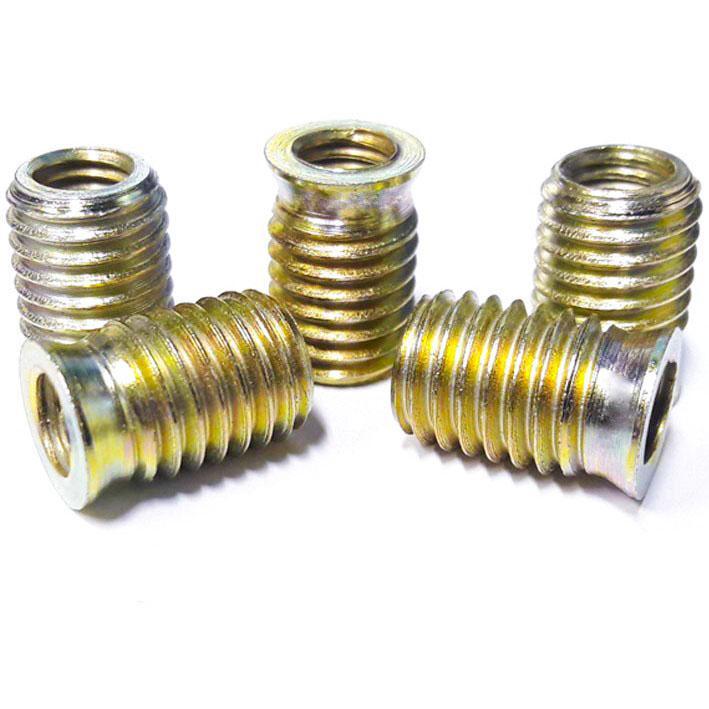 Bucha Roscada 8(1,25) x 5/8-11BSW Torquilho (pacote 10 pçs)