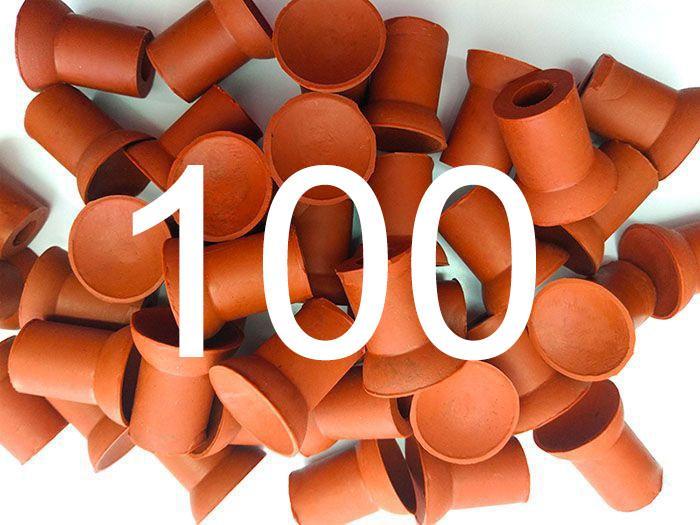 Chupeta Ventosa Para Esmerilhar Válvulas Pacote com 100 peças  - Fersan Ferramentas