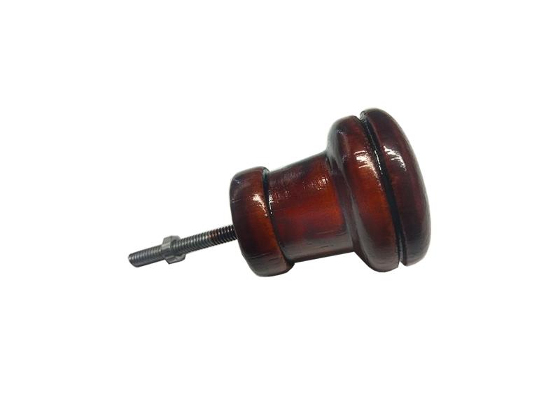Puxador para Móveis Modelo 1291 - Madeira c/ parafuso   - Fersan Ferramentas
