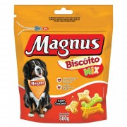 BISCOITO MAGNUS MIX CÃES 500GR
