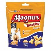 BISCOITO MAGNUS ORIGINAL CÃES 400GR