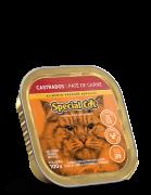 PATÊ SPECIAL CAT CARNE CASTRADOS 100G