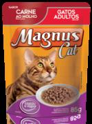 SACHÊ MAGNUS CAT CARNE AO MOLHO 85G