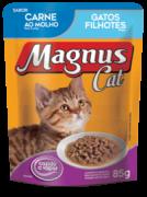 SACHÊ MAGNUS CAT FILHOTE CARNE 85GR