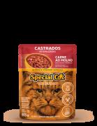 SACHÊ SPECIAL CAT CASTRADOS CARNE 85G