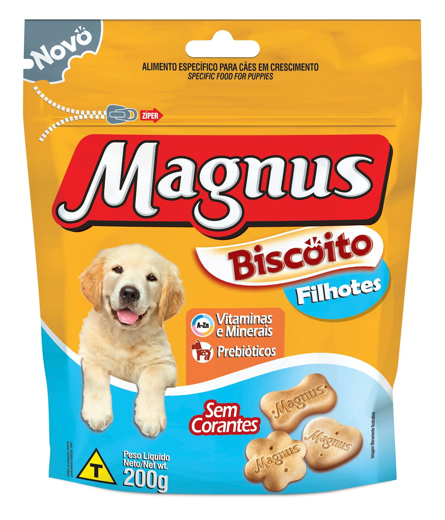 BISCOITO MAGNUS FILHOTES 200GR
