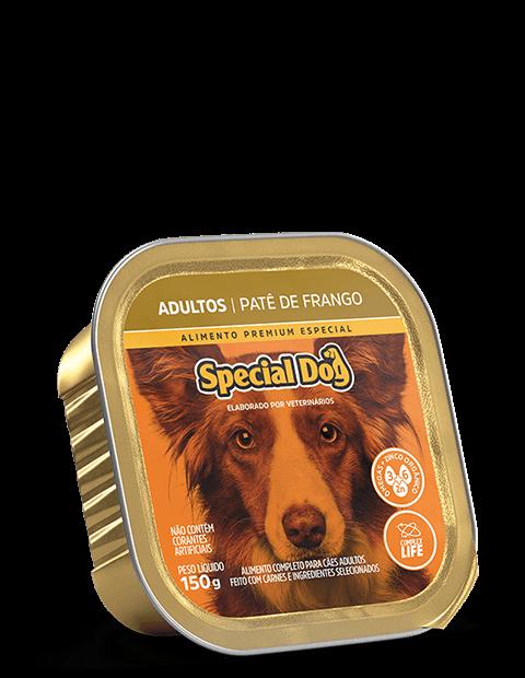 PATÊ SPECIAL DOG ADULTO FRANGO 150G