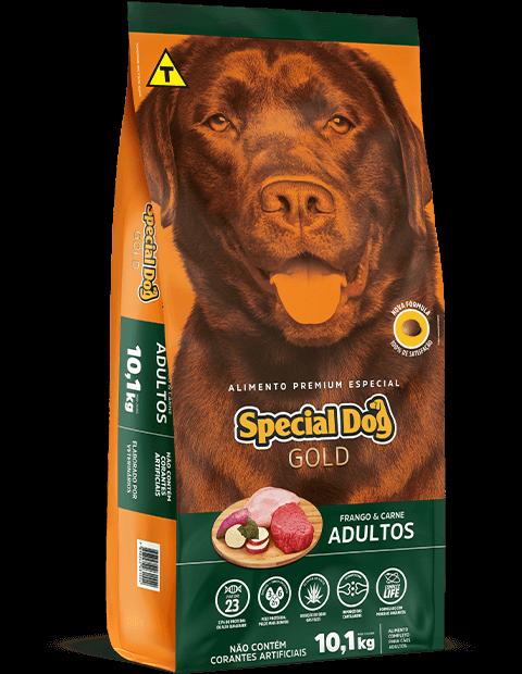 RAÇÃO SPECIAL DOG GOLD FRANGO E CARNE 15KG