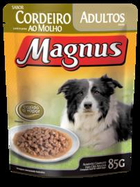 SACHÊ MAGNUS CÃES CORDEIRO AO MOLHO 85G