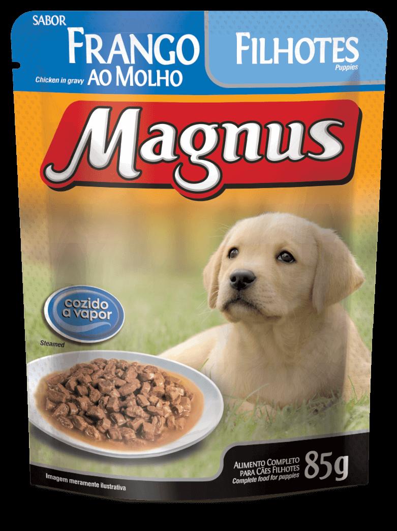SACHÊ MAGNUS CÃES FILHOTE 85G