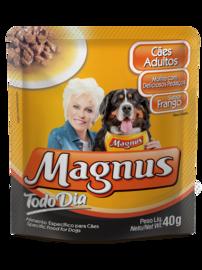 SACHÊ MAGNUS CÃES TODO DIA FRANGO 40GR