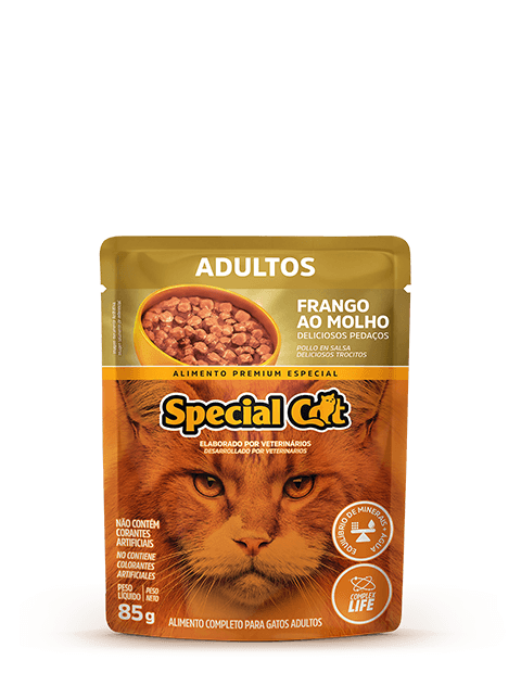 SACHÊ SPECIAL CAT ADULTO FRANGO85G