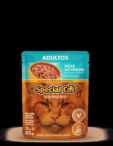 SACHÊ SPECIAL CAT ADULTO PEIXE 85G