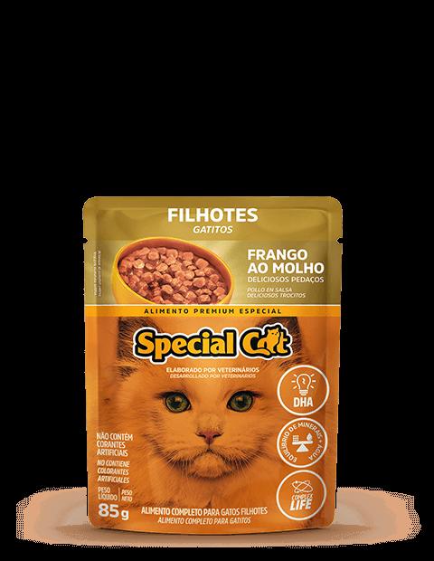 SACHÊ SPECIAL CAT FILHOTE FRANGO 85G