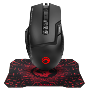 Combo Marvo Mouse Gamer M355 + Mouse Pad G1 Gamer