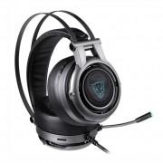 Headset Gamer Motospeed H18, LED, 7.1, Drivers 50mm, Cinza - FMSHS0083CIZ