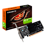 Placa de Vídeo Gigabyte Geforce GT 1030 2GB/64Bits GDDR5 DVI-D+HDMI GV-N1030D5-2GL